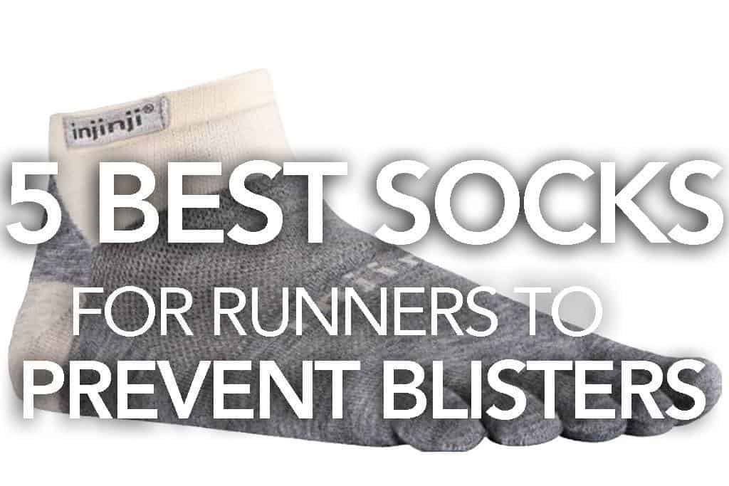 Blisters might be the most annoying minor injury that you can suffer running. Most blisters are caused by friction which can be reduced or even elimated with a good pair of socks. Here are our favorite 5 best socks for running to prevent blisters.
