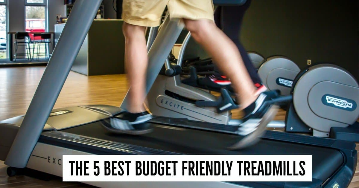 Your budget is a key consideration when choosing a treadmill, Here are the 5 Best Budget Friendly Treadmills.