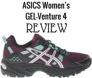 We review the ASICS Women's GEL-Venture 4