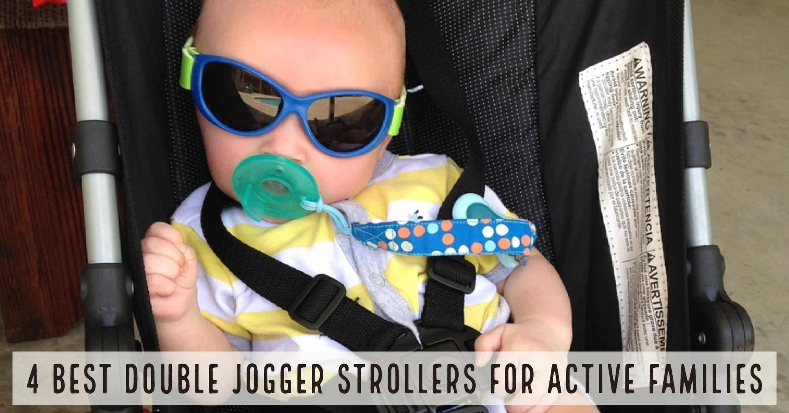 There are many other benefits to purchasing a double jogging stroller. First, it helps my wife and I stay active with both kids and second it allows us to take manage both girls at the same time (#winning). Below we break down the four (4) best double jogger/running strollers for active families.