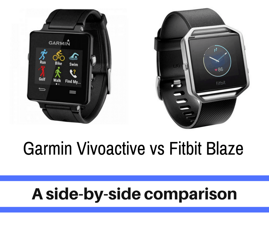 """Garmin and Fitbit have been wearable technology brands that continue to evolve with the ever changing landscape of athletes. Each boasting their own features and uniqueness, it encourages the questions """"which one is right for me"""". Our goal is to help you decide between the two - Garmin Vivoactive vs Fitbit Blaze."""