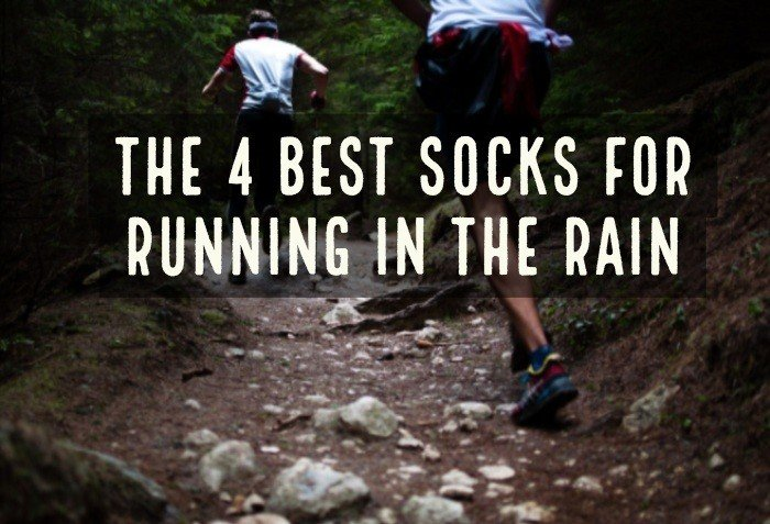 Wet feet are a wasteland are conditions and problems for athletes. Some of the most common are blisters, Athlete's foot, and infections in runner's toes. Here are the 4 best socks for running in the rain.
