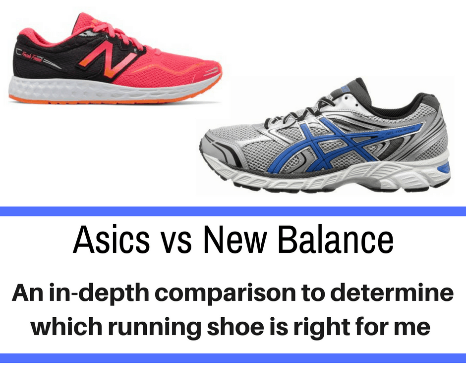 Two of the most popular running shoe brands are Asics and New Balance. We break down the differences and why you should choose one over the other - Asics vs New Balance.
