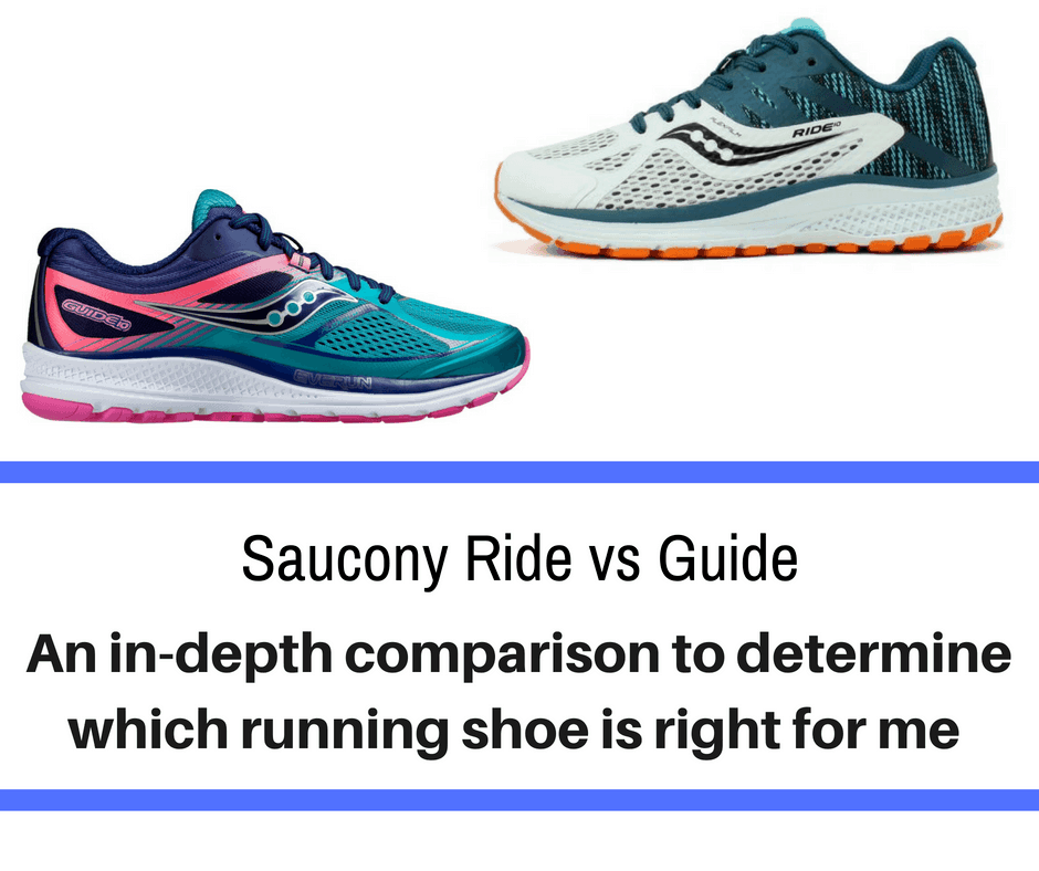 Saucony has established themselves as a quality running shoe. Two of there most popular pairs are the Guide & Ride. We break down the differences Saucony Ride vs Guide