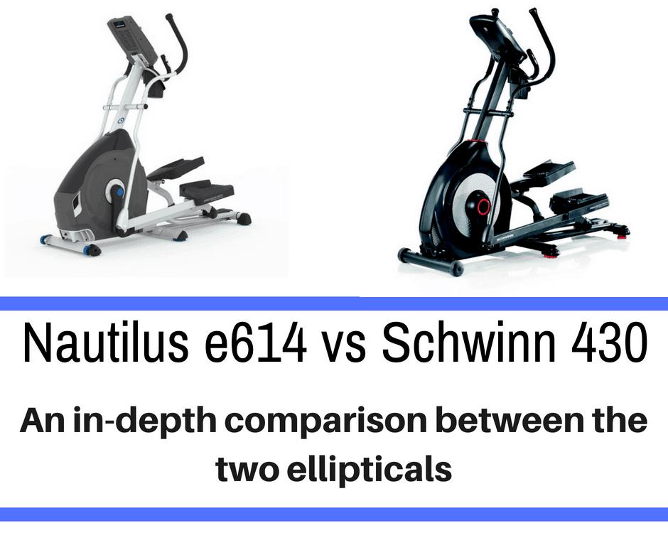 Nautilus e614 vs Schwinn 430
