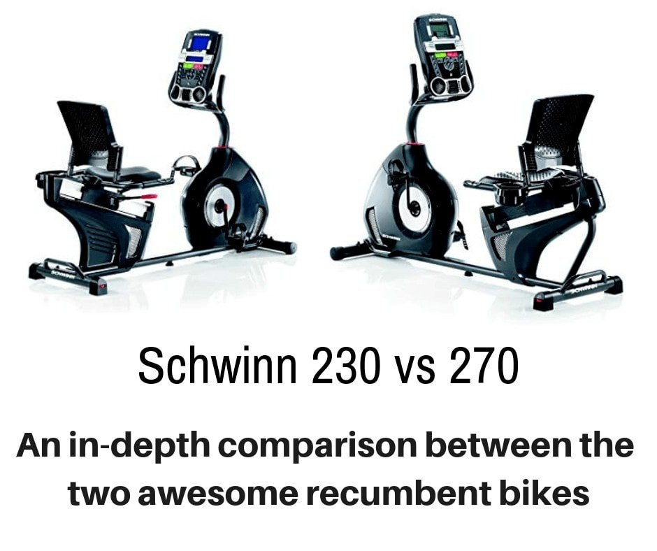 Schwinn 230 vs 270 - detailing the differences
