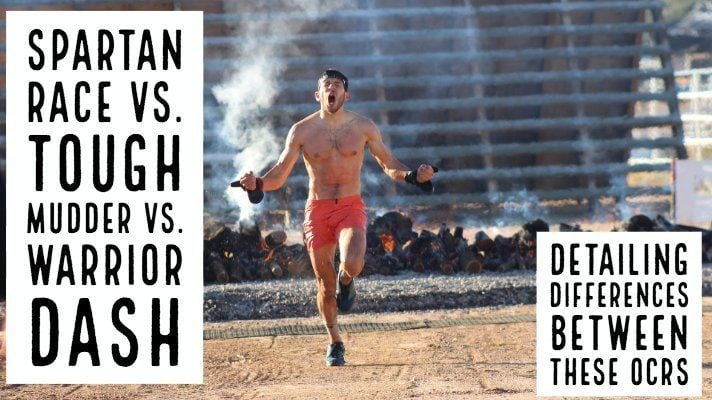 Spartan Race vs. Tough Mudder vs. Warrior Dash – we detail the differences between these very popular races