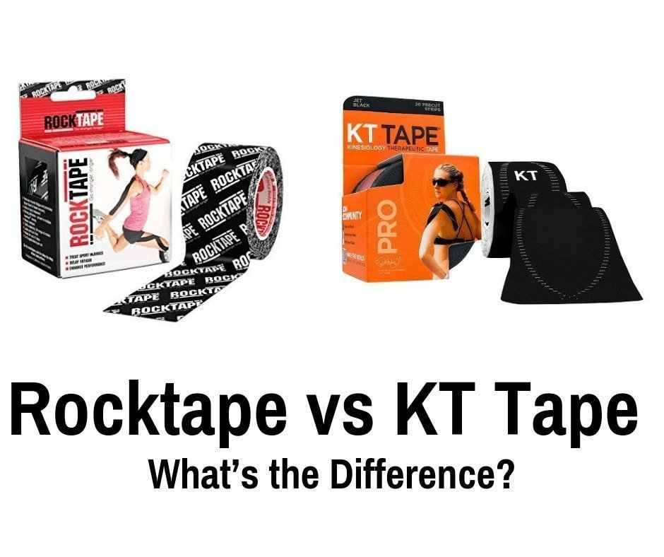 Rocktape vs KT Tape – What's the Difference_