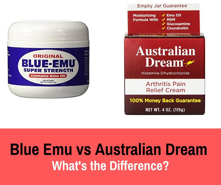 If If you are looking for fast and long-lasting relief from joint and muscle pains, we break down Blue Emu vs Australian Dream and the differences.