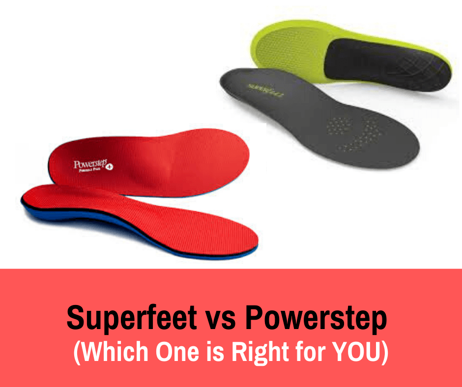 If you are looking for quality insoles but cannot decide on which one would work for you, we break down the differences between Superfeet vs Powerstep in this comparison.