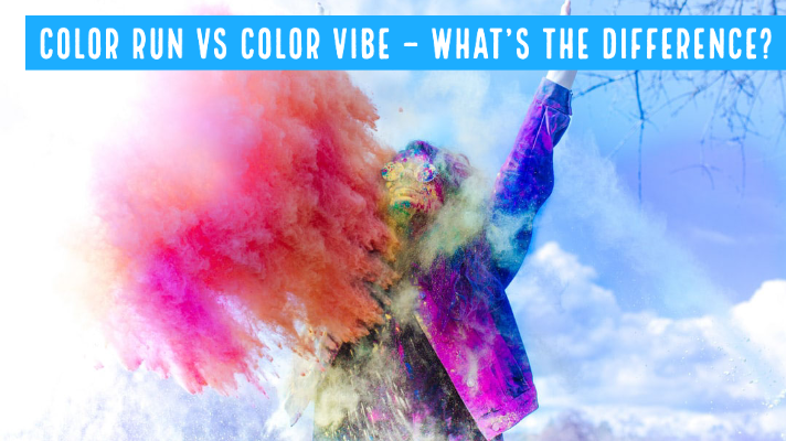 In this article, we are doing the Color Run vs Color Vibe Comparison, and putting special focus on the differences between the two events.