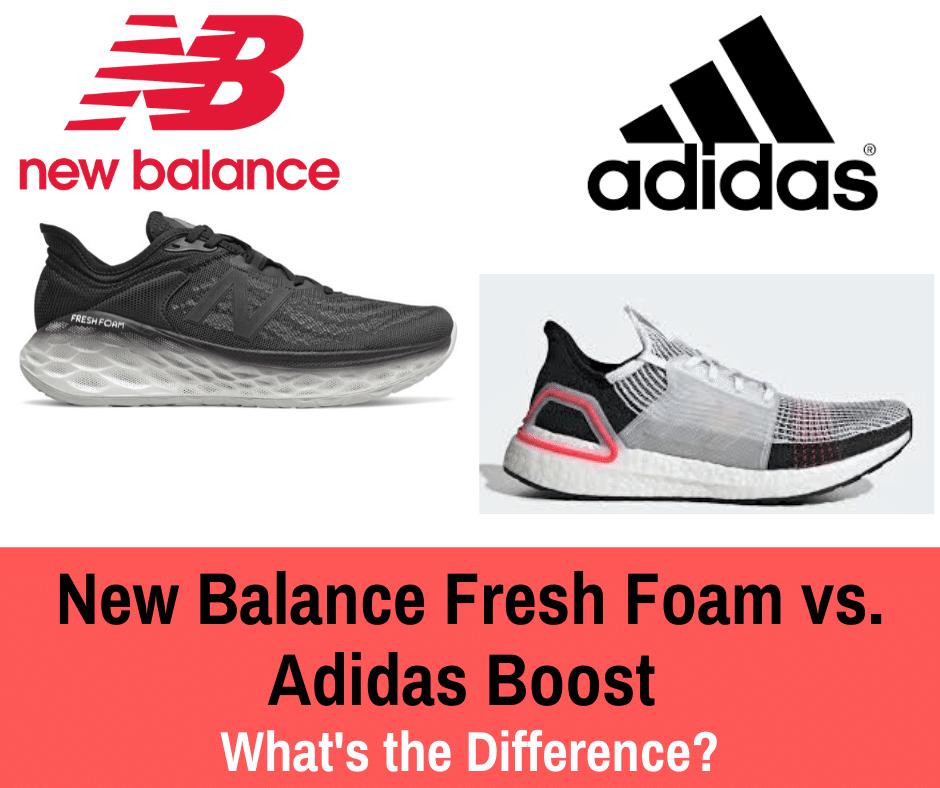 New Balance Fresh Foam vs. Adidas Boost - Train for a 5K.com