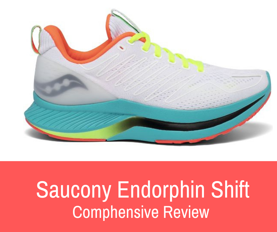 The Saucony Endorphin Shift is built to offer a comfortable, cushioned, and stable ride to your training and act as a durable daily trainer that can give your feet and legs a break on those recovery and mileage days.