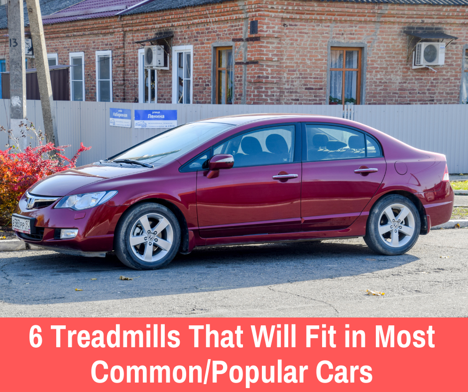 We have researched some of the most common/popular cars to get you easy-to-understand what treadmills can fit.