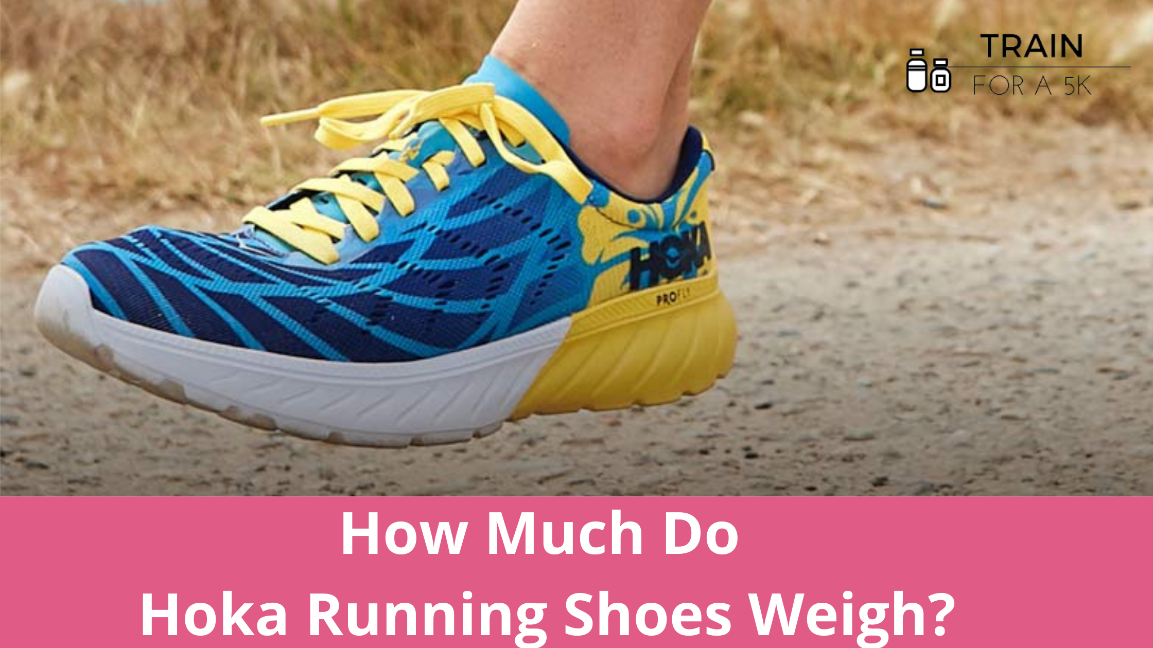 The average weight of a Hoka running shoe is 8.97 ounces in men's and 8.14 ounces in women's. The heaviest Hoka running shoe is the Bondi and the lightest is the Rocket X.