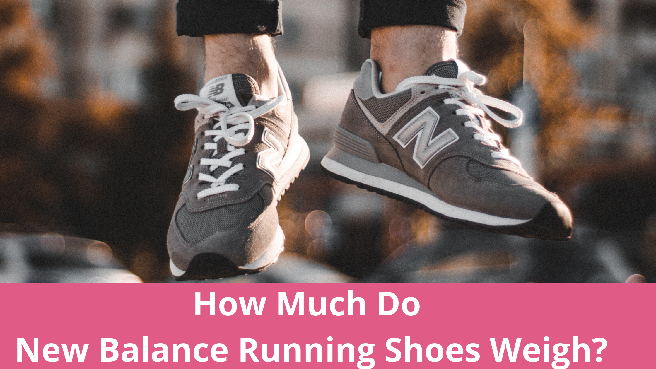 The average weight of a New Balance running shoe is 9.1 ounces in men's and 7.7 ounces in women's. The heaviest New Balance running shoe is the Fresh Foam More and the lightest is the FuelCell Rebel.