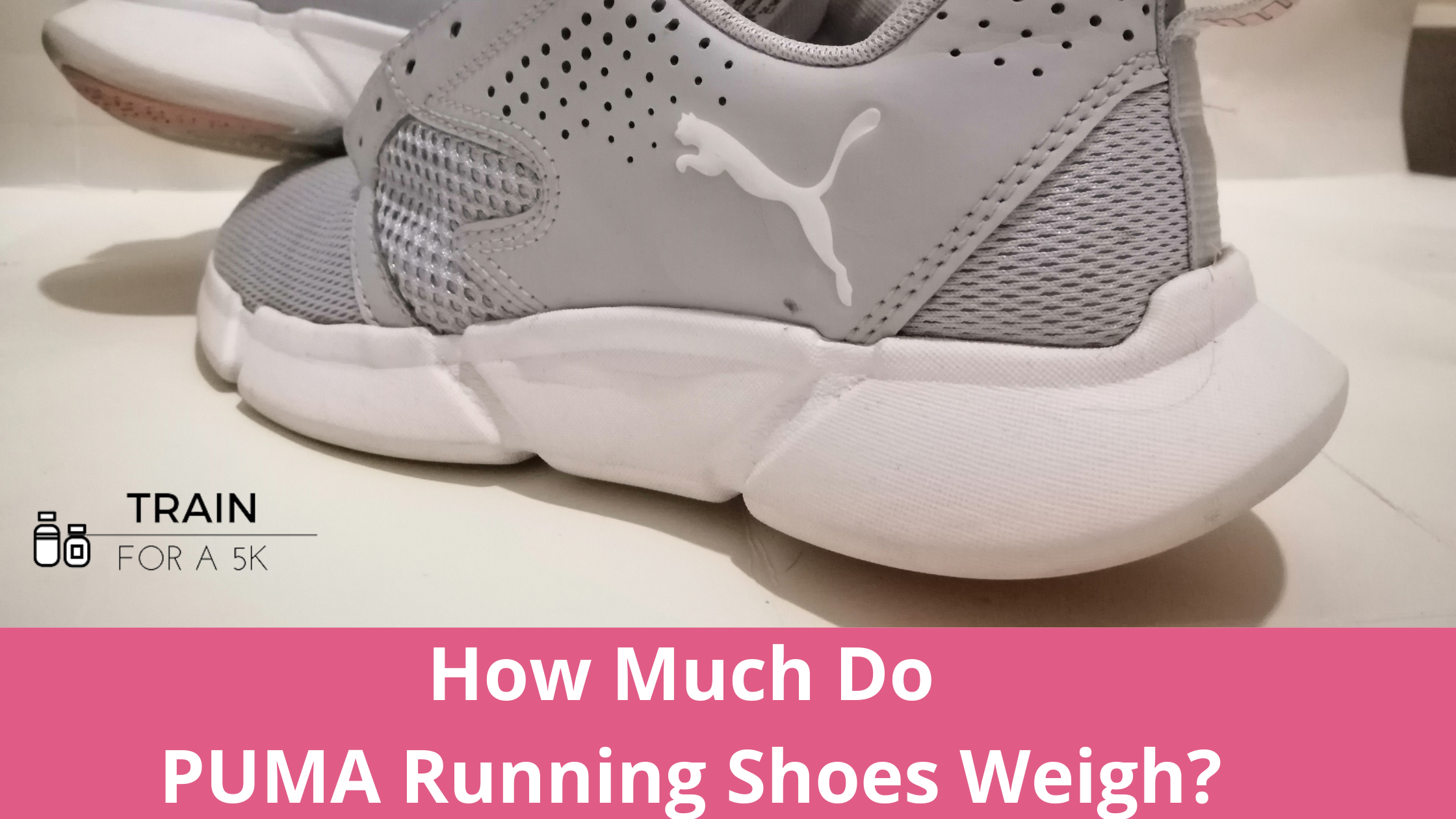 The average weight of a Puma running shoe is 8.96 ounces in men's and 7.4 ounces in women's. The heaviest Puma running shoe is the Magnify Nitro and the lightest is the Liberate NITRO.