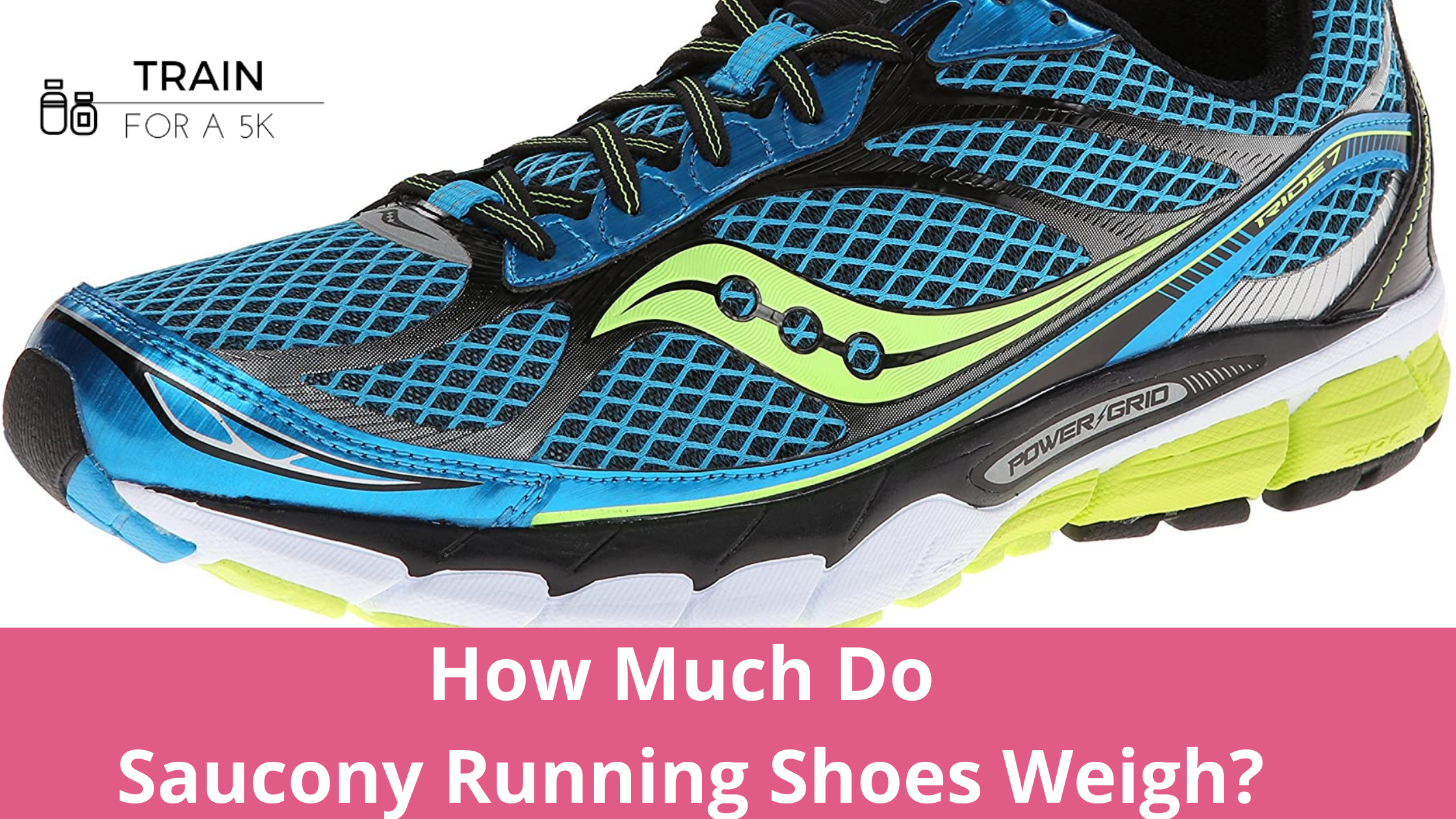 The average weight of a Saucony running shoe is 9.4 ounces in men's and 8.3 ounces in women's. The heaviest Saucony running shoe is the Peregrine and the lightest is the Endorphin Pro.